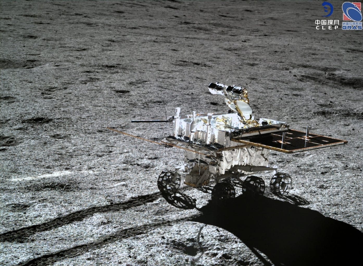 Image of the patrol unit on its way to point D. Credit: CLEP/ Lunar and Planetary Multimedia Database