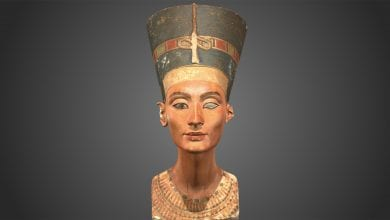 The bust of Nefertiti. Source: Live Science