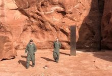 Photo of A Mysterious Metal Monolith Found In Remote Utah Wilderness Stumps Experts
