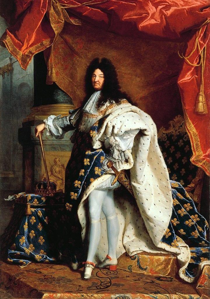 Portrait of Louis XIV. Credit: Musée du Louvre, Paris