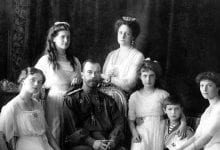 The Romanov Family. Credit: Hermitage Museum, St. Petersburg, Russia