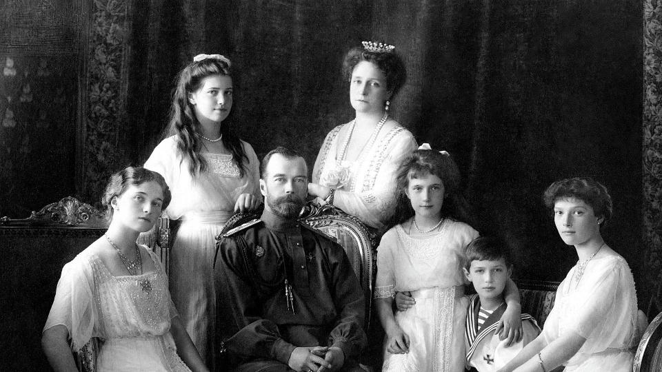 The Romanov Family. Credit: Hermitage Museum, St. Petersburg, Russia