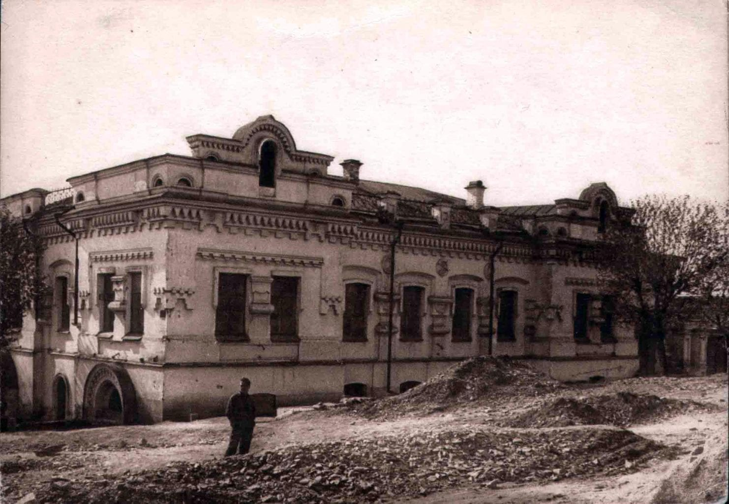 Ipatiev's House, the place where the Romanovs were killed. Credit: Wikipedia
