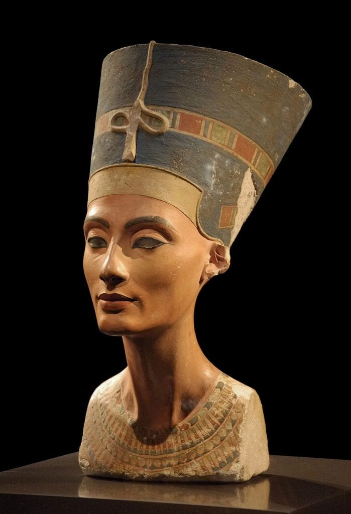 Bust of Nefertiti. Source: Wikimedia Commons
