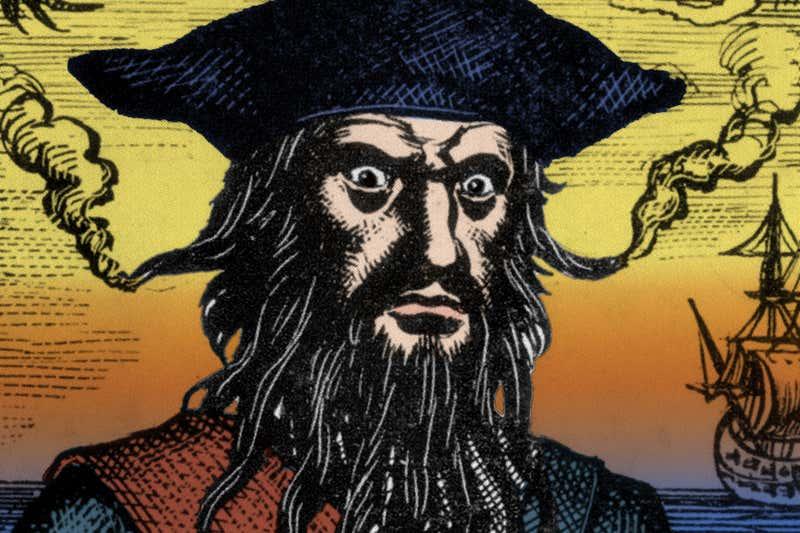 Illustration of Blackbeard. Credit: New Scientist