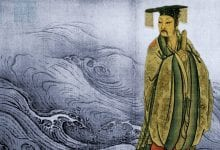 An illustration of the mythical Yu the Great, founder of the controversial Xia Dynasty and the Great Flood of China. Credit: Harvard Club of Shanghai
