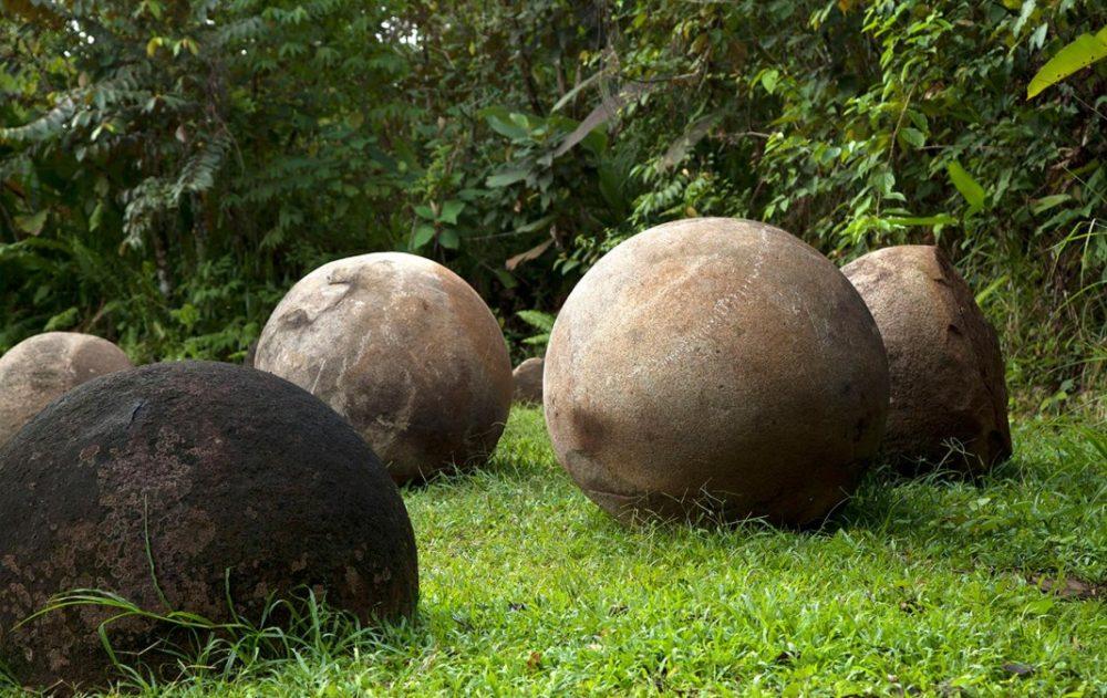 Stone Spheres in Costa Rica. Credit: Flickr/AmericanIndian Feedback