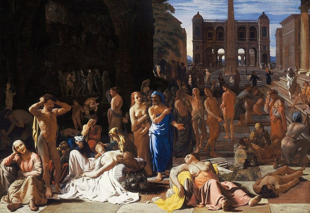 The plague of Athens in 430 BC. Credit: Michiel Sweerts