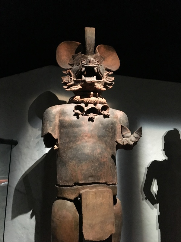 Recreational statue of the bat god Camazotz. Credit: Templo Mayor Museum