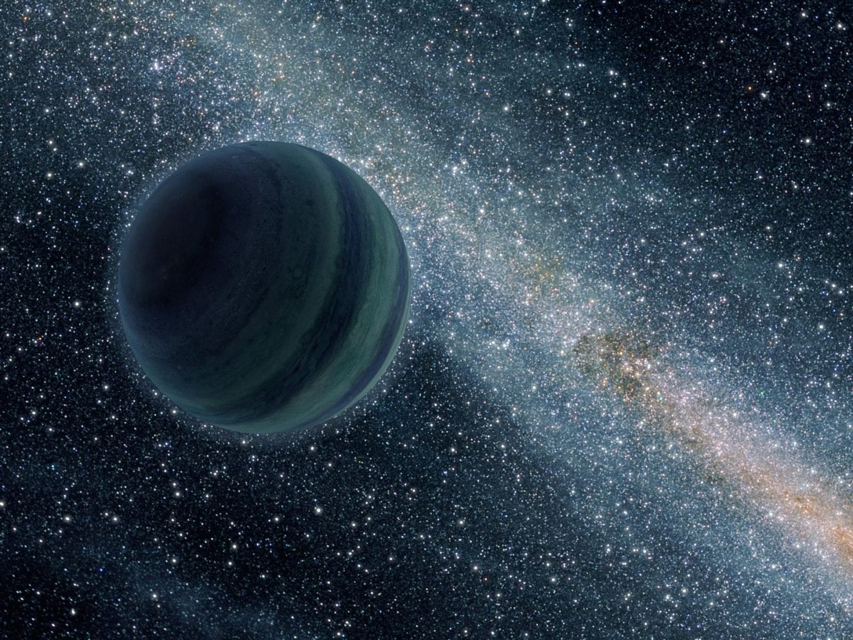 Artist's illustration of a Jupiter-sized rogue planet. Credit: NASA, JPL-Caltech