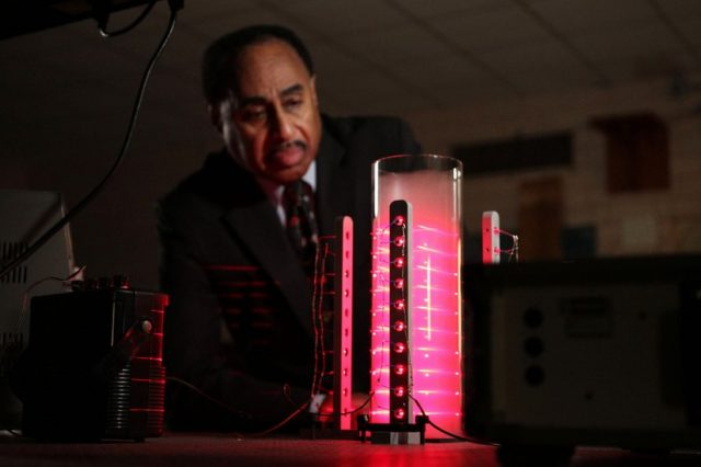 Physicist Ron Mallett has been obsessed with time travel and building a time machine for decades. Credit: BBC