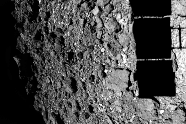 Hayabusa2 landed two times on asteroid Ryugu in 2019 to collect samples and now has returned to Earth successfully. Credit: JAXA