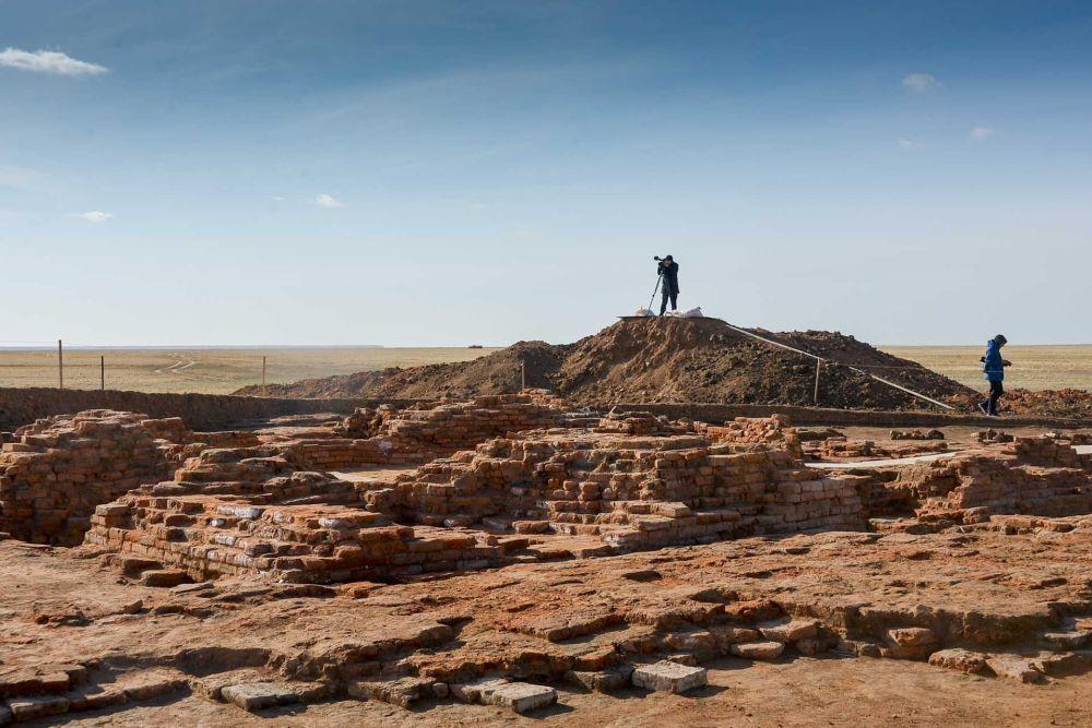 Excavations in Northern Kazakhstan promise to rewrite the history of the Golden Horde. Credit: Elena Berezhnaya