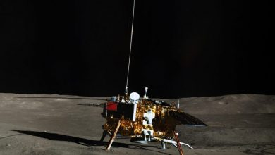 The Chang'e 4 lander from the previous and actually still ongoing mission of the Chinese Space Agency. Today, China succeeded in landing the brand new Chang'e 5 lander that should collect and return the first lunar samples in decades. Credit: CLEP/ Lunar and Planetary Multimedia Database