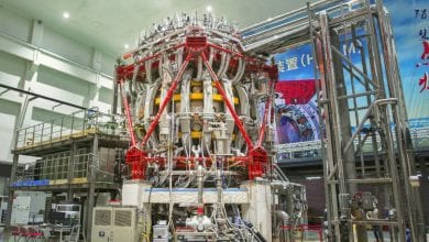 "Here is how the Chinese ""Artificial sun"" looks like currently. Credit: China Atomic Energy Authority"