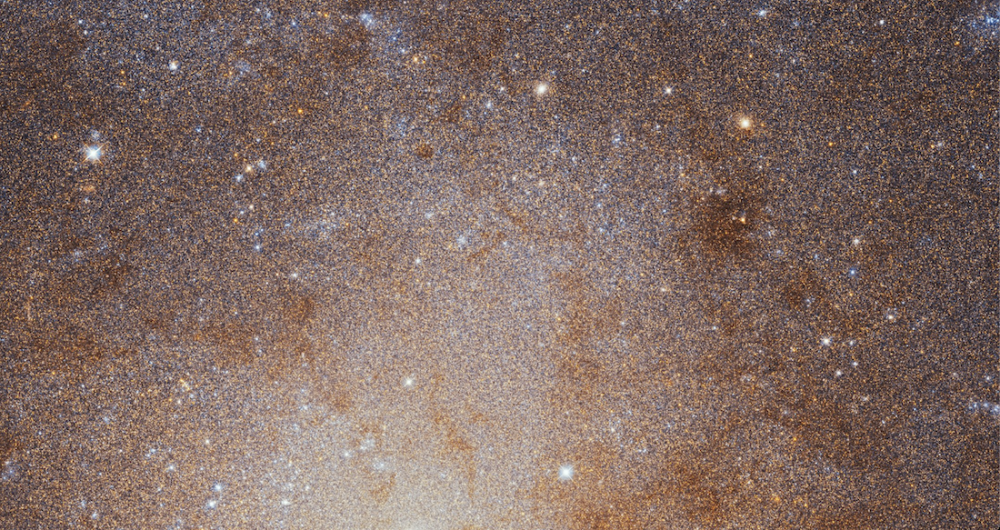 The sharpest view ever of the Triangulum Galaxy. Image Credit: ESA.