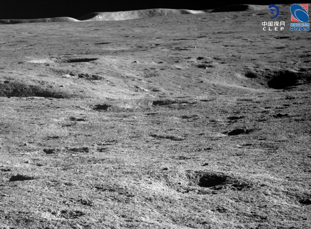 The uneven surface of the Moon. Experts did not expect the terrain to be so rough. Credit: CLEP/ Lunar and Planetary Multimedia Database