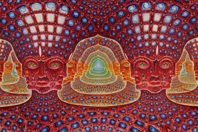 What kind of entities did DMT users witness and how did it make them feel? Credit: Kahpi