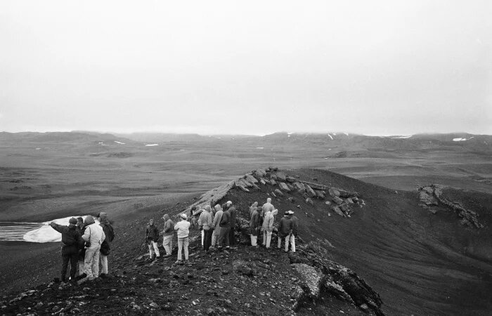 Astronauts spent time on the island of Iceland since it replicates the conditions on the Moon better than any place on Earth. Credit: Alistar Macdonald/Mirrorpix