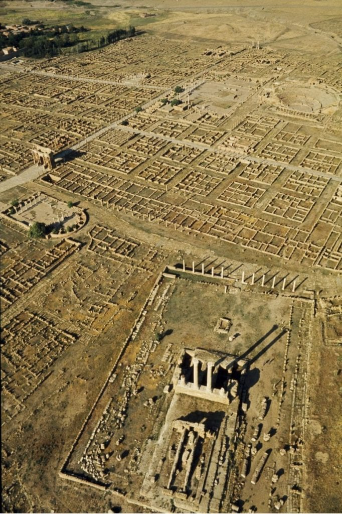 Another aerial view of the Roman city. Credit: Brian Brake for LIFE magazine, 1965