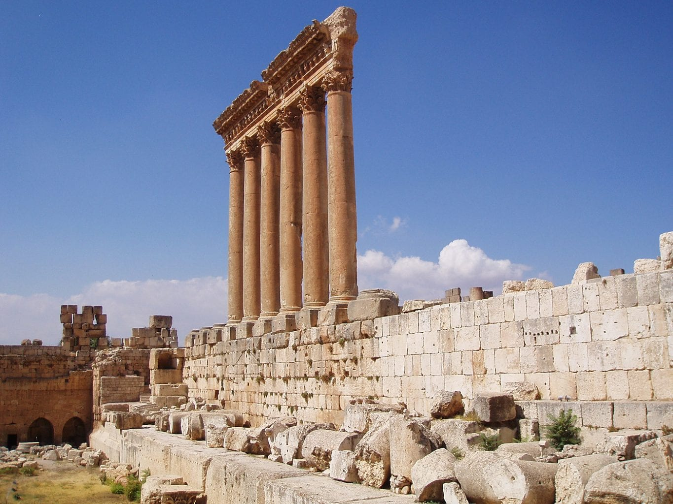 Ruins of the Temple of Jupiter. Credit: Teach Middle East