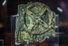 Fragment A of the famous Antikythera Mechanism. Credit: Brett Seymour/WHOI