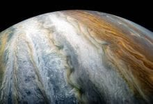 Colorful swirling cloud belts on Jupiter's southern hemisphere. Credit: NASA/Juno Image Gallery