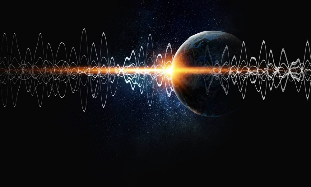 Most sounds in space scientists receive or catch come as radio waves. Credit: Shutterstock