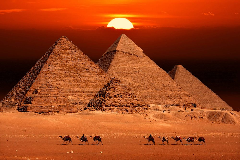 The long-lost third artifact from the Great Pyramid of Giza has now been rediscovered. Credit: Shutterstock