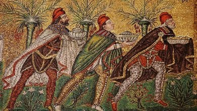 A stunning mosaic in the Basilica of Sant'Apollinare Nuovo in Ravenna depicting the Three Wise Men. Credit: Cosi Tutti