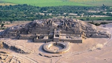 The oldest urban settlement in the Americas and one of Peru's greatest ancient wonders - Caral. Credit: ANDINA/Difusión