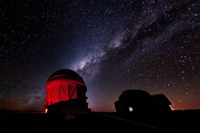 The Cerro Tololo Inter-American Observatory is the heart of the Dark Energy Survey projects. Now, the scientific team has published its second catalog of data which includes nearly 700 million mapped astronomical objects. Credit: Fermilab