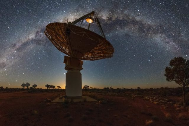 Could it be possible that aliens simply no longer exist and this is why we cannot find them. Credit: CSIRO