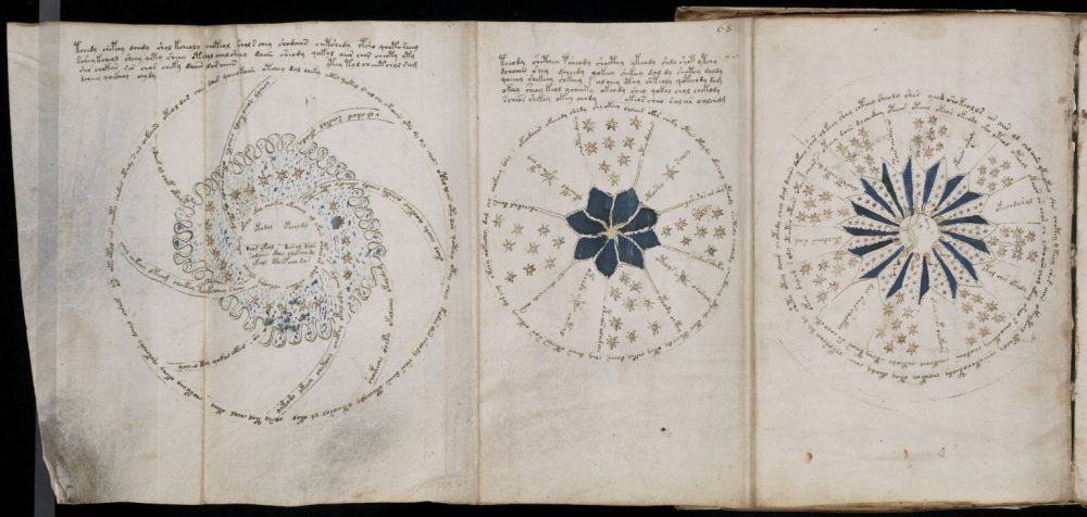 The Medieval text includes sketches of star maps that astronomers have never seen before. Credit: Classical Astrologer