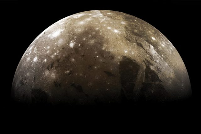 Ganymede is the largest moon in the Solar System and one of the most interesting celestial objects due to its unique characteristics. Credit: Reddit