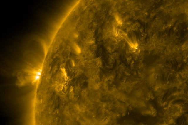 """2020 was a massive year for space exploration when it comes to the Sun. With the launch of the Solar Orbiter, scientists discovered many new things about or star, including the so-called """"campfires"""" which you can see below. Credit: ESA"""