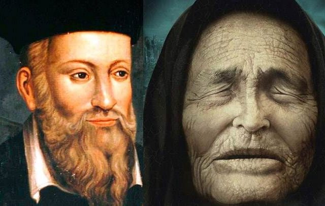 What did Vanga and Nostradamus predict for 2021? Let's find out. Credit: Pinterest