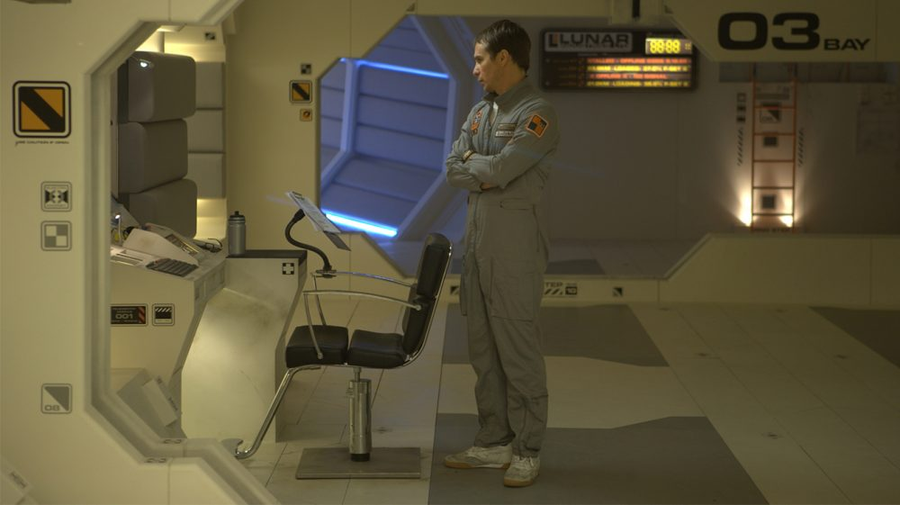 The movie Moon shows us the hardship of being an astronaut in a completely different perspective. Credit: Time Out
