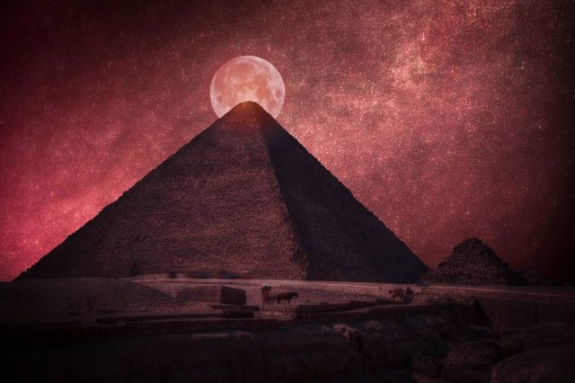 Only one of the seven wonders of the ancient world has survived modern days and that is the Great Pyramid of Giza. Credit: Shutterstock