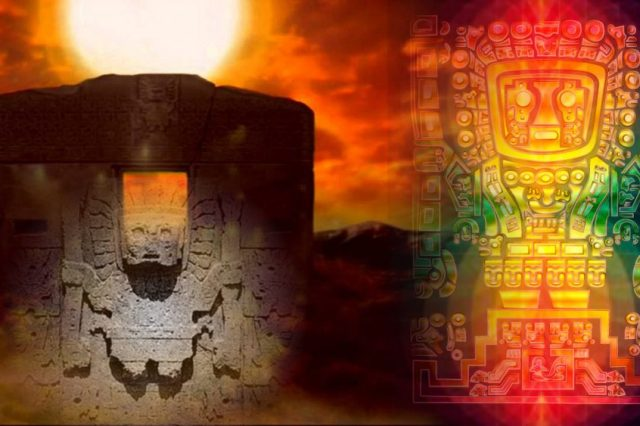 Viracocha is an ancient deity that continues to be present in native South American cultures today. Credit: Despierta al Futuro