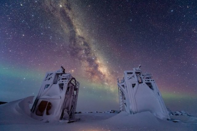 Scientists have found a rare physical event caused by a cosmic particle in the data of the IceCube Neutrino Observatory. This discovery helped prove a 60-year-old-theory. Credit: IceCube Neutrino Observatory