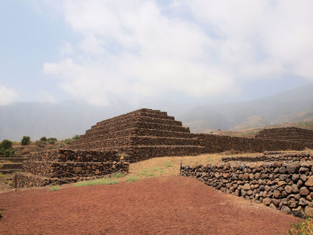 Did you know that there are six stone structures resembling pyramids on the island of Tenerife? Credit: Martin Robson/Flickr