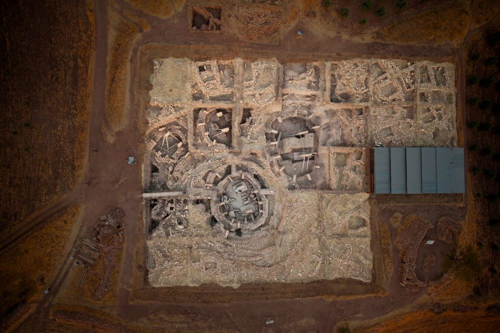 Aerial view of the megalithic complex. Credit: Gobekli Tepe Project / UNESCO