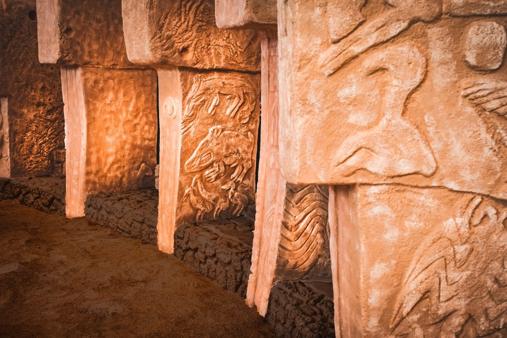High-quality image of some of the magnificent stone pillars in Gobekli Tepe. Credit: Shutterstock