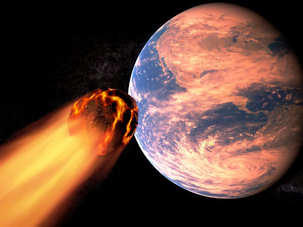 It is widely accepted that the Tunguska explosion was caused by a meteorite. Credit: Pixabay