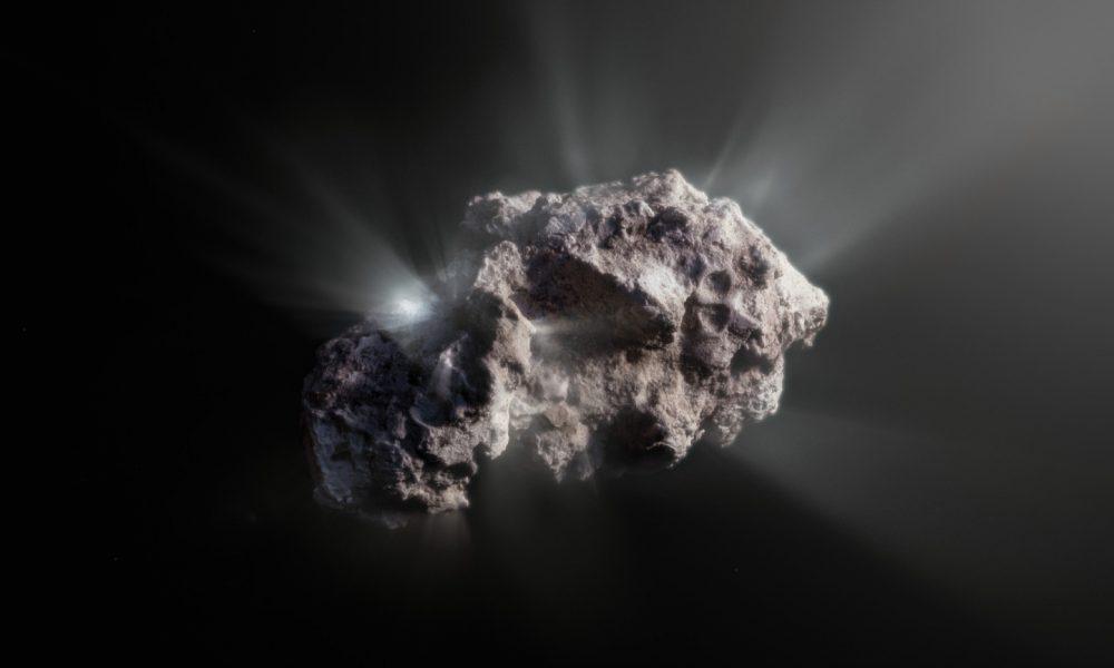 Artist's impression of Comet 2I/Borisov. Credit: ESO/M.Kormesser