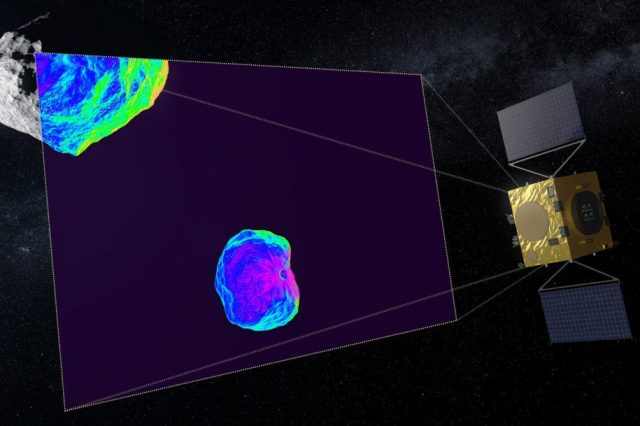 NASA has real plans to send a probe that will collide with asteroid Didymos's moon- Dimorphos. Credit: ESA - Science Office