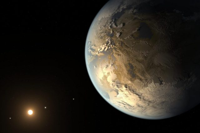 Kepler-186f - the first exoplanet discovered within the habitable zone. Exoplanets like this one could potentially help scientists discover dark matter. Credit: NASA Ames / SETI Institute / JPL-Caltech