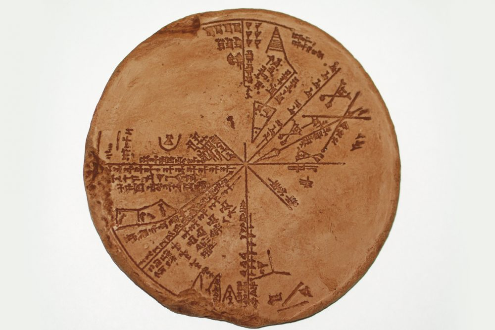Perhaps the most extraordinary ancient star map discovered to date. Credit: Femina.hu