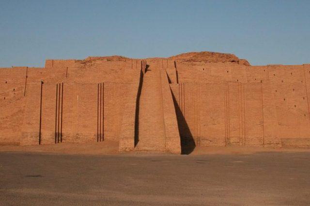 The Ziggurat of Ur. Credit: Wikimedia Commons